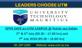 UTM OPEN DAYS JULY 2018